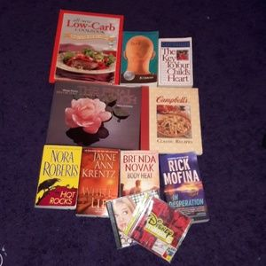 Other - Books and CDs Bundle